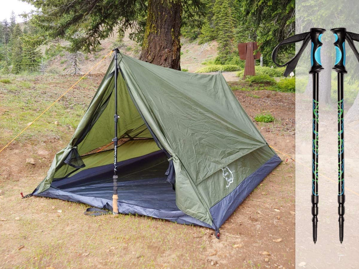 River Country Products Trekker Tent 送料無料カード決済可能 Trekking Pole 2.2 Combo with 日本最大級の品揃え