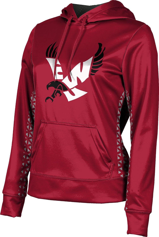 ProSphere Eastern Washington University Girls' Pullover Hoodie, School Spirit Sweatshirt (Geometric)