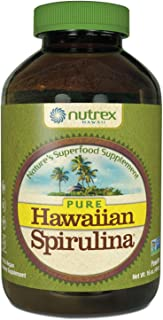 Pure Hawaiian Spirulina - Powder 16 Ounce - Farm Grown in Hawaii since 1984 - Natural, Nutrient Rich Superfood - Immune Su...
