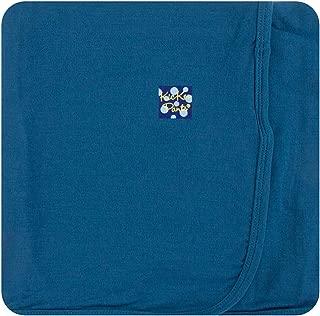 KicKee Pants Baby Boys Basic Swaddling Blanket - Twilight, One Size