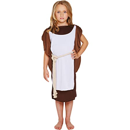 Childrens Anglo Saxon Boy English Historical Costume 7 - 9 Years: Amazon.co.uk: Toys & Games