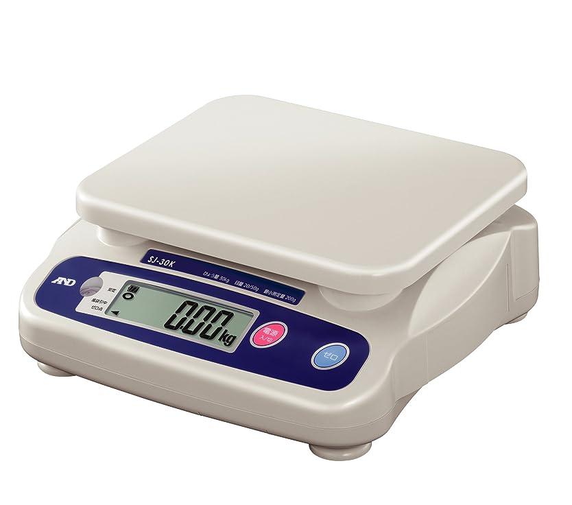 トラフィックロック解除思いやりA&D 取引証明用 デジタルはかり SJ-30K ?ひょう量:30kg 最小表示:0.02~0.05kg(使用範囲:0.2~30kg) 皿寸法:230(W)*190(D)mm 検定付:使用地区制限なし?