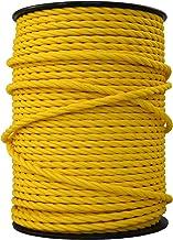 marron neutre Rouleau complet et longueurs personnalis/ées disponibles C/âble monoconducteur 6491/X de 1,5/mm Bleu vif jaune//vert