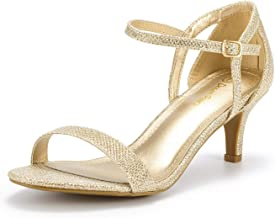 DREAM PAIRS Women's Lexii Fashion Stilettos Open Toe Pump Heel Sandals