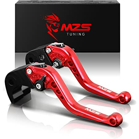 MZS Short Levers Brake Clutch CNC for Honda CBR1000RR CBR 1000RR Fireblade SP 2008-2018// CBR600RR CBR 600RR 2007-2018 Red