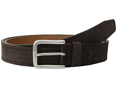 Trask Sutton Belt (Grey Suede) Men