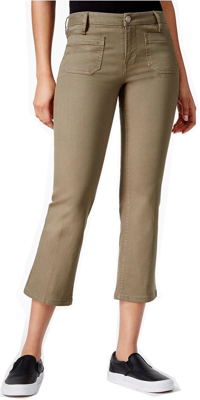 129 SANCTUARY Green Capri Pants 24 WAIST B+B