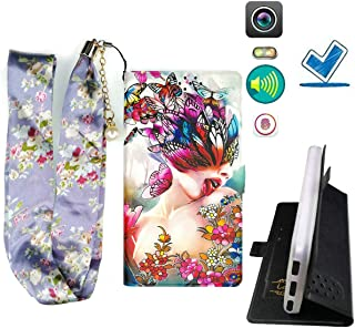 Lovewlb Case for Gionee K3 Cover Flip PU Leather + Silicone Ring case Fixed HD