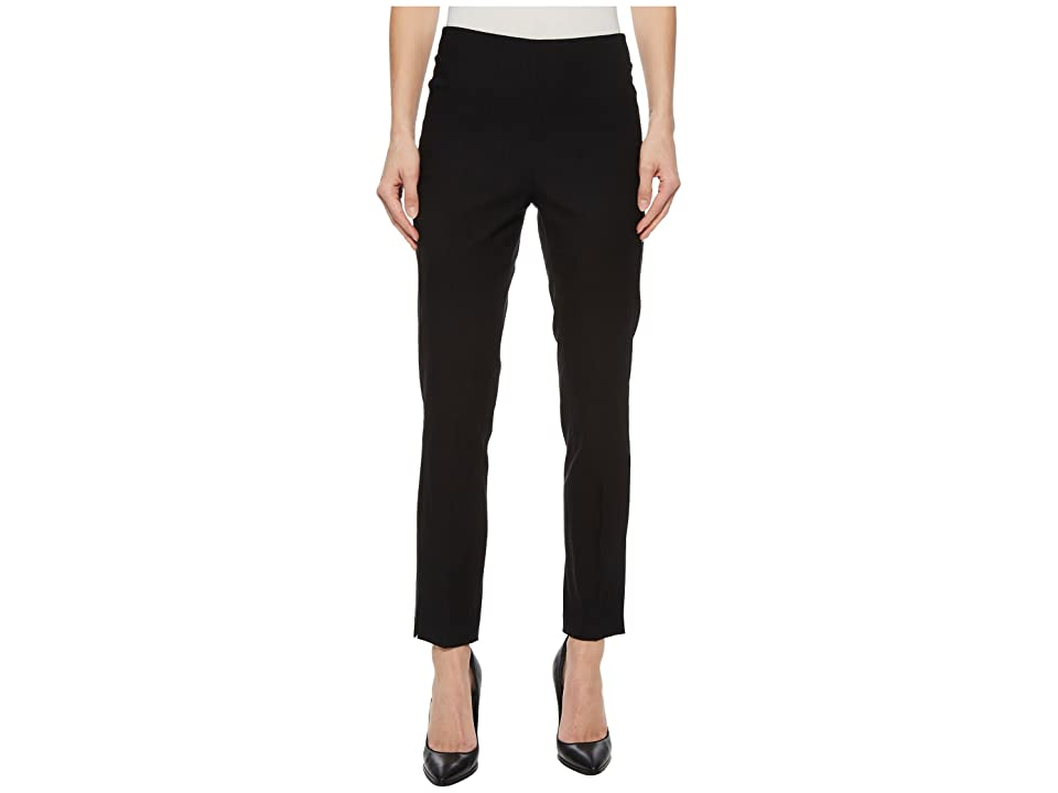 Tribal Stretch Bengaline 28 Pull-On Ankle Pants (Black) Women's Casual Pants