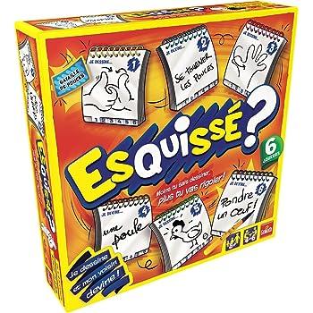 Goliath - Esquissé 6 joueurs - Jeu d'ambiance - à partir de 8 ans- Jeu de  société - Jeu de dessin: Amazon.fr: Jeux et Jouets