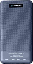 Stuffcool 10000mAh 22.5W Universal Fast Charging Li-Polymer Power Bank for Quick Charge, AFC, Vivo Super Charge, Dash Char...