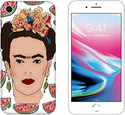 186b01ff96e Funda iPhone 8 Carcasa Apple iPhone 8 Frida Kahlo ANGURIA VIVA LA VIDA /  Cubierta Imprimir