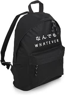 Whatever Backpack School Bag Tumblr Hipster Grunge Goth Japanese Kawaii Symbol