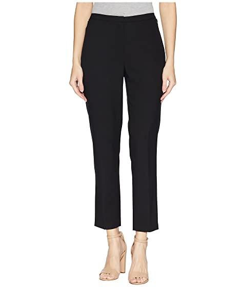 Ellen Tracy SLIM ANKLE ZIP POCKET PANTS, E BLACK
