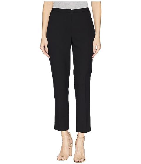 Ellen Tracy SLIM ANKLE ZIP POCKET PANTS, E BLACK