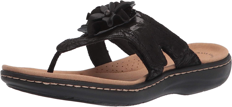 Clarks Women's Spasm price Laurieann Sandal Flat Long-awaited Gema