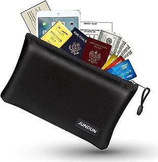 JUNDUN Fireproof Money Bag, 10.6