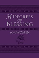 31 Decrees of Blessing for Women Kindle Edition
