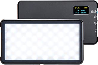 $99 » Lume Cube Panel GO | Bicolor LED Light | for Photo and Video, Content Creation, Video Light | for Nikon, Canon, Sony, Fuji