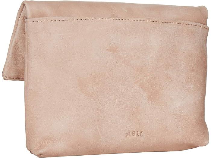 Able Emnet Fold-over Crossbody Fog Handbags