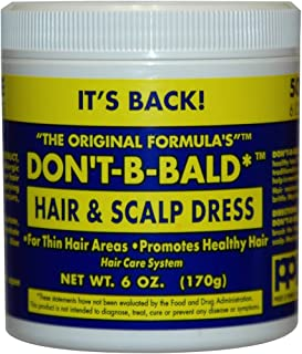 Don't Be Bald Hair and Scalp Dress