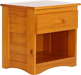 Discovery World Furniture Nightstand, Honey