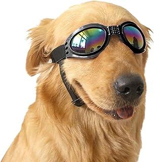 27abfd738d Angker Gafas de sol para perro, gafas para mascotas, gafas de sol plegables  para