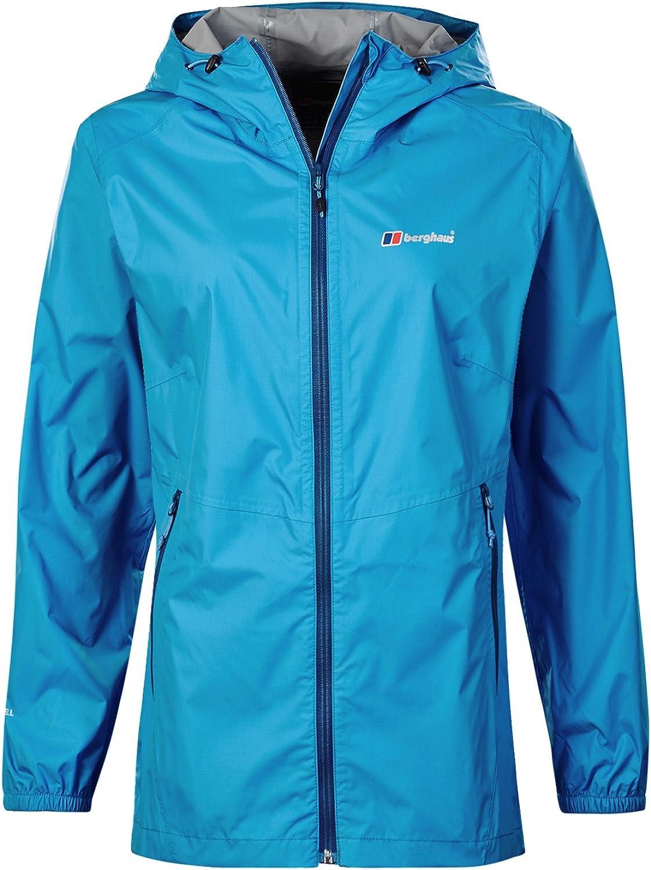 (Size 8, Campanula)  Berghaus Women's Deluge Light Waterproof Jacket