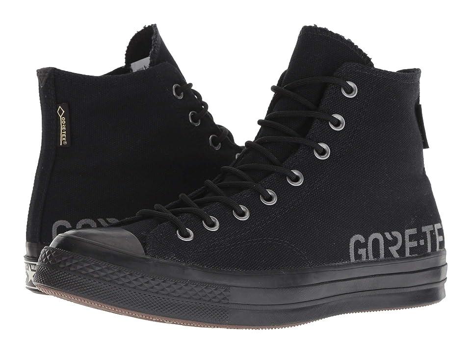 Converse Chuck 70 GORE-TEX Hi (Black/Black/Black) Lace up casual Shoes