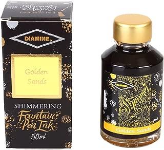 Diamine Shimmering Golden Sands Ink 50 ml
