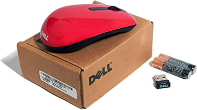 Dell WM311 Red Wireless Mini Mouse W Receiver 67JGG