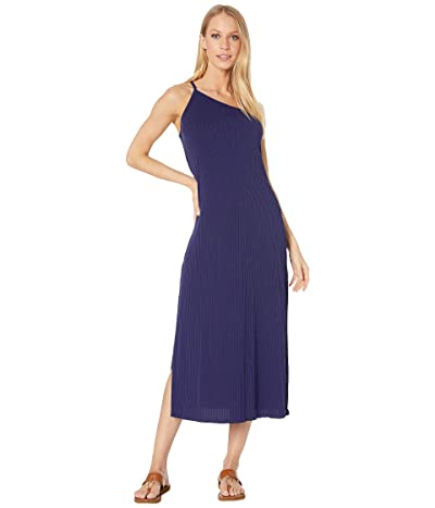BECCA by Rebecca Virtue Shoreline Asymmetrical Pullover Dress Cover-Up (Navy) Women