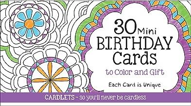 Cardlets: Birthday