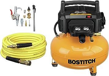 BOSTITCH Air Compressor Kit, Oil-Free, 6 Gallon, 150 PSI (BTFP02012-WPK): image