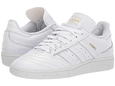 adidas Skateboarding Busenitz (Footwear White/Gold Metallic/Footwear White) Men