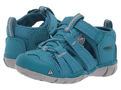 Keen Kids Seacamp II CNX (Toddler) (Tahitian Tide) Girls Shoes