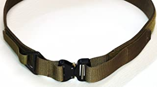 Medium Tan Custom USA Made Tactical Military Assault Gear Cobra Buckle Riggers Belt