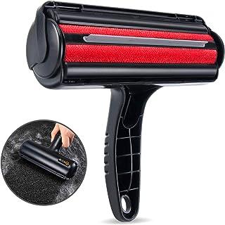 Brosse Electrostatique Poils Animaux Chien Court Long Cheveux Ramasse, Enlève, Nettoyage des Vêtements Canapé Voiture Lit ...
