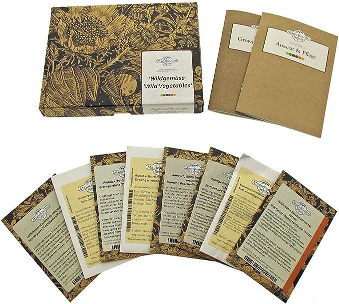 55 opinioni per Verdure selvatiche- set regalo di semi con 8 varietà vegetali piuttosto
