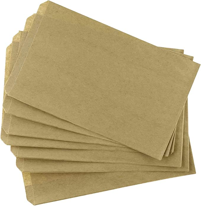 4 x 6 Cookies Good for Candy Arts Crafts It 100 Pack White Kraft Paper Bags