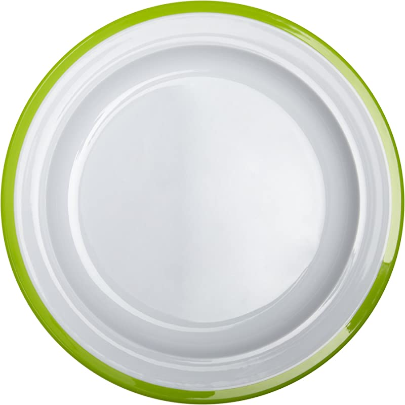 OXO Tot Big Kids Plate With Non Slip Base Green