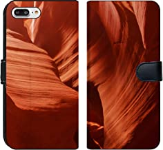 MSD Premium Phone Case Designed for iPhone 7 Plus and iPhone 8 Plus Flip Fabric Wallet Case Image ID: 24393726 Upper Antelope Canyon in Arizona Page November