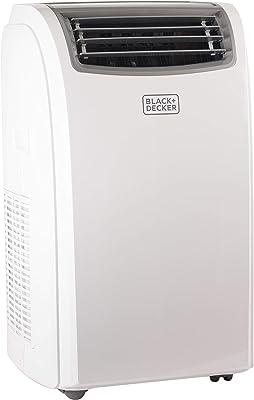 BLACK + DECKER BPACT12WT Portable Air Conditioner, 12,000 BTU, White (Renewed)