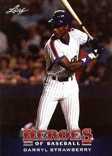 2015 Leaf Heroes of Baseball Card #12 Darryl Strawberry