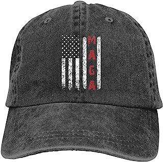 3a2aa940d652a Unisex Make America Great Again MAGA Vintage Adjustable Baseball Cap Denim Dad  Hat