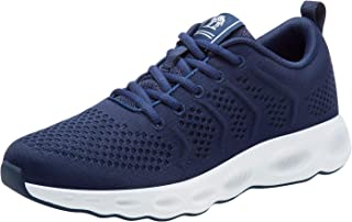 Men's Running Shoes Lightweight Comfortable Tennis Shoes Fashion Mesh Breathable Sneaker Casual Walking Shoes