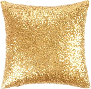 gold accent pillow