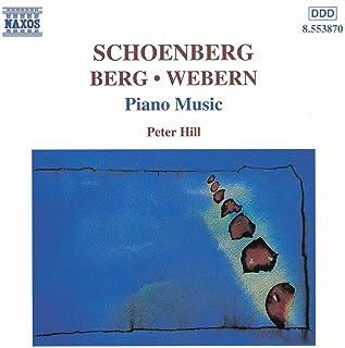 Berg/Schoenberg/Webern: Piano Music