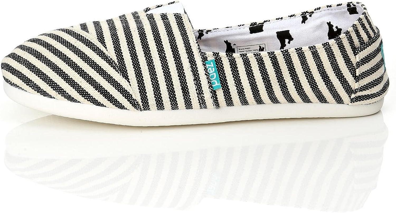 PAEZ My Men's Canvas Alpargatas Canvas Alpargatas Slip-on Casual Cloth shoes Flat Loafer FOLKIES Alaska