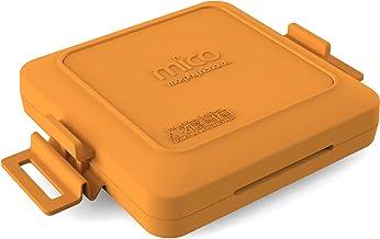 Morphy Richards MICO Toastie Microwave Sandwichera tostada para microondas, Silicona y Metal Revestido, naranja